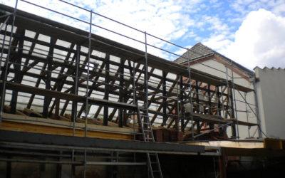 Arbeiten Dachabriss und Umbau