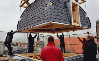 Arbeiten Dachkuppel