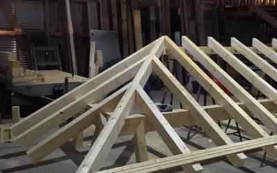 Arbeiten Schmoelln Konstruktionsvollholz
